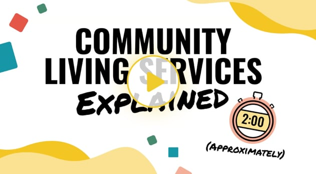 Community living services video